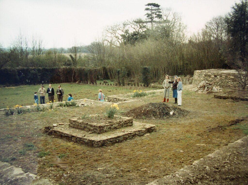 Rose Garden cleared 1984