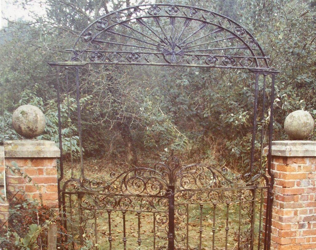 Entrance to the Wild Garden 1984